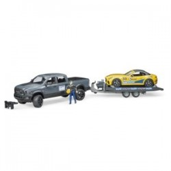 RAM 2500 Power Wagon und Bruder Roadster Racing Team