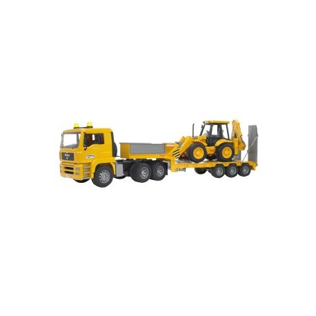 MAN TGA Tieflader mit JCB 4CX Baggerlader (ohne Light and Sound Module)